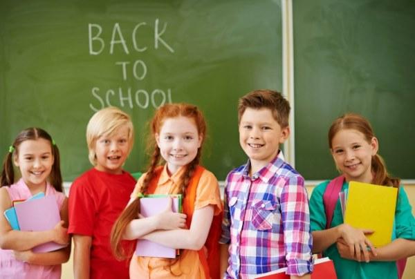 дети изучают английский в школе