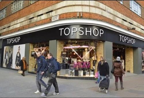магазины в Англии